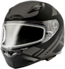 Ff-49 Full-Face Berg Snow Helmet Matte Black/Silver Xl