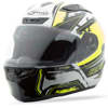 Ff-88 Full-Face X-Star Helmet White/Hi-Vis Yellow - Small