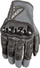Coolpro Force Riding Gloves Black/Silver Small