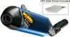 Blue Titanium Factory 4.1 RCT Slip On Exhaust - 14-17 Honda CRF250R