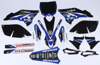 Yamaha Raceline Graphics Complete Kit Black Backgrounds - 10-13 YZ250F