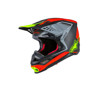 Anaheim 1 Limited Edition M-10 Motorcycle Helmet Red/Black/Yellow Small