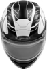 MD-01S Wired Modular Snow Helmet White/Black Large