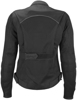 Women's Aira Mesh Riding Jacket Black Xs