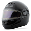 Gm-38S Full-Face Snow Helmet W/Electric Shield Black Sm