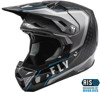 Youth Formula Carbon Axon Motorcycle Helmet Black / Grey / Blue Youth Large