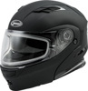 Md-01S Modular Snow Helmet Matte Black - Medium