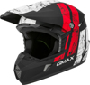 MX-46Y Dominant Helmet Black/White/Red Youth Large