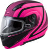MD-04S Docket Modular Snow Helmet Hi-Vis Pink/Black Large