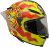 Pista GP R Full Face Street Motorcycle Helmet Red/Yellow 2X-Large