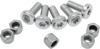 "Brake Rotor Bolt & Nut Kit - 5x 3/8-16 x 1"" - REP 43567-92 On 94+ Laced Harley"