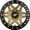 Split 6 Beadlock Wheel Bronze/Black 4/156 14X7 6+1