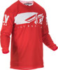Kinetic Shield Jersey Red/White Youth Medium