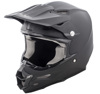 F2 Carbon Solid Motorcycle Helmet Matte Black 4X-Large