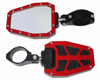 Side Mirror Red Bezel PR