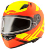 Ff-49 Full-Face Berg Snow Helmet Hi-Vis Orange/Yellow Md