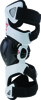 Fluid Pro Knee Brace Set White/Black/Red X/2X