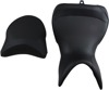 World Sport Performance CarbonFX Vinyl 2-Up Seat Low - For Multistrada