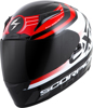 Exo-R2000 Full-Face Fortis Helmet Black/Red L