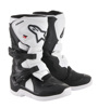 Tech 3S Yooth MX Boots Black/White Size 1