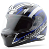 Ff-49 Full-Face Warp Helmet White/Blue - X-Large