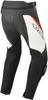 Missile v2 Leather Street Motorcycle Pants Black/Red/White US 38
