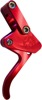 Billet Aluminum Throttle Lever Assembly Red - For Watercraft
