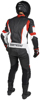 Men's Apex V1 RR Leather One-Piece Race Suit Red/White X-Large