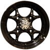 GMZ Venomous Black Finish 14x8 UTV Wheel - 4/136.5 Fits Kawasaki Teryx / 4