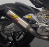 Aprilia RSV4 Cat Eliminator Exhaust Titanium