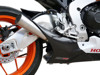 12-16 Honda CBR1000RR Taylormade GP2 Stainless Slip On Exhaust Kit