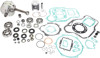 Engine Rebuild Kit w/ Crank, Piston Kit, Bearings, Gaskets & Seals - 01-02 CR125R