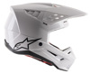 S-M5 Solid Helmet Gloss White X-Small
