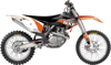 Raceline Graphics Complete Kit White Backgrounds - Many 13-16 KTM 125-500