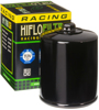 Race Oil Filter Black - For 80-18 H-D Tour Sftail Dyna Sport