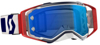 SX Military Prospect Goggle Red/White/Blue W/Blue Lens