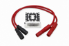 Spiral Core Wire Set 8.0mm Red - For 99-08 Twin Cam
