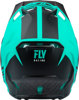 Formula Origin Helmet Matte Black/Teal 2X-Large