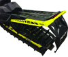 Custom Aluminum Rear Bumper Lemon - For 17-19 Ski Doo