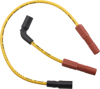 Spark Plug Wire Set 8mm Yellow - For 07-18 Harley XL Sportster