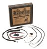 "Extended Black Control Cable Kit For Baggers - 15"" tall bars (ABS)"