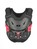Chest Protector 2.5 Kids Kids 110-134cm Black/Red - Lightweight Hard Shell