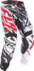2017.5 Kinetic Mesh Pants Black/White/Red US 26
