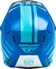 Kinetic Thrive Helmet Blue/White X-Small