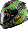 Youth Gm-49Y Alien Snow Helmet Green Ys