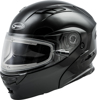 Md-01S Modular Snow Helmet W/Electric Shield Black Md - Medium