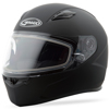 Ff-49 Full-Face Snow Helmet Matte Black - Medium