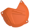 Clutch Cover Protector Orange - For 13-17 KTM 250/300
