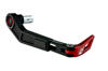 Driven D-Axis Race Red Motorcycle Front Brake Lever Guard