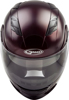 MD-01 Modular Motorcycle Helmet Wine Red 2X-Large